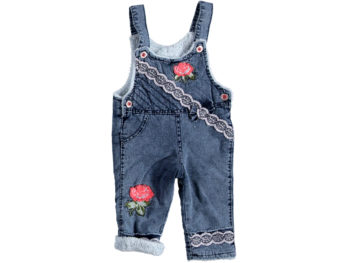 Комбинезон джинсовый на евромахре 313839